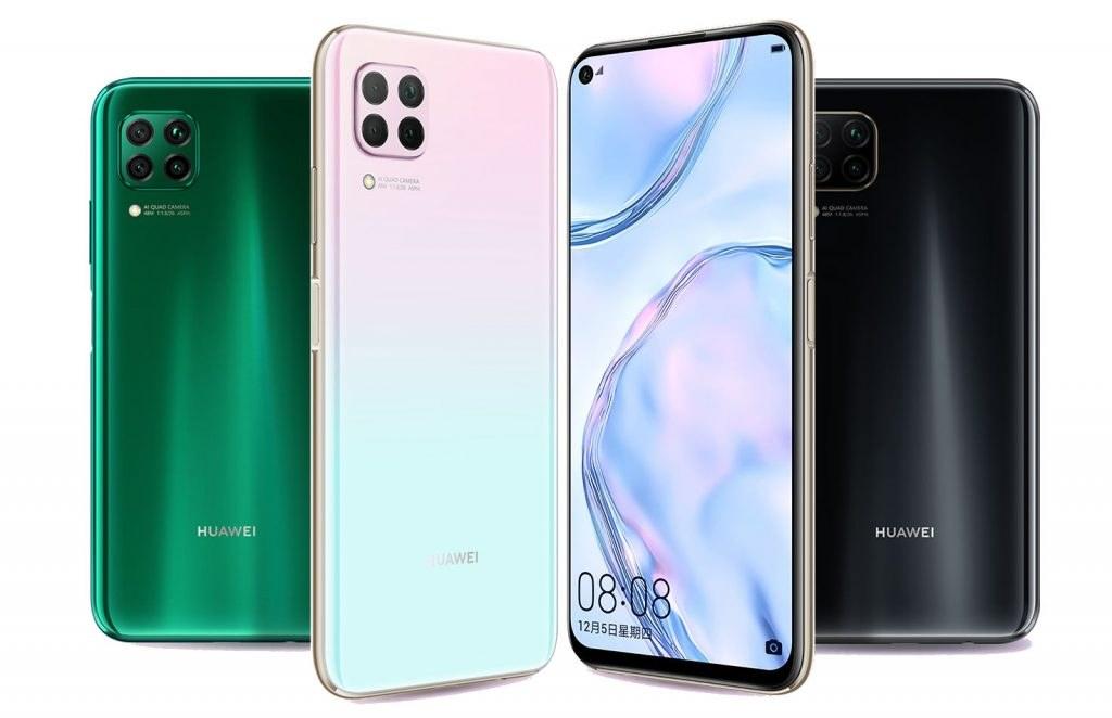 Huawei P40 Lite dostupne boje